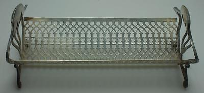 Reed & Barton EPNS Biscuit Basket or Rack Made in USA PK10