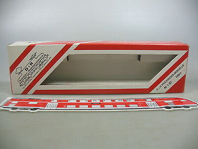 AK865-0,5# D+R Model railway H0m Empty box for 20097 Observation car B 2097 RhB