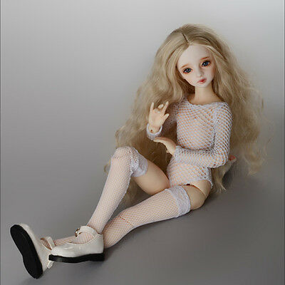 Dollmore 1/4 BJD clothes MSD - Glam Net All-in-one (White)