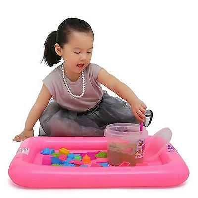 New Kids Indoor Funny Play Sandbox Inflatable Creative Castle Sand Box Table Toy