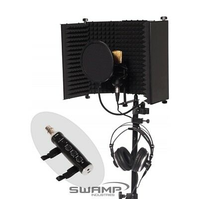 Home Studio Vocal Recording Package - iSK BM-700 Condenser Mic + USB Interface