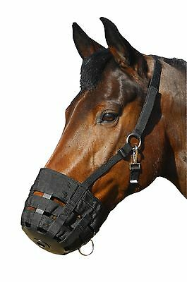 Horse Grazing Muzzle - Restricts Grazing - For Overweignt Horses Or Those Pro...