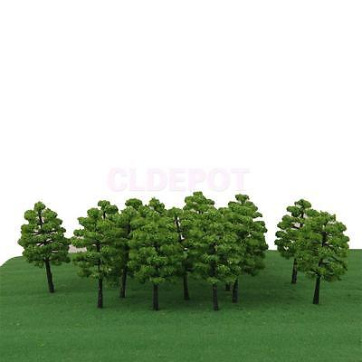 20 Green Trees Model Train Railway Park Architecture Diorama Scenery HO OO