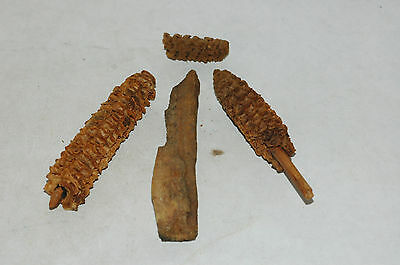 Scarce Hohokam lot of 4 Artifacts 800-1400 AD NAA-17