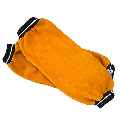 Leather Oversleeve Welding Heat insulation Protection safty Welding-Cuff Sleeve