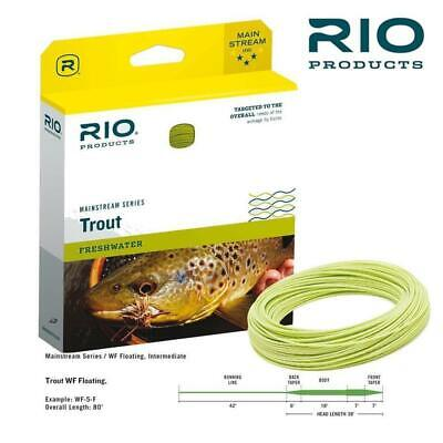 Rio Mainstream Trout Floating Wf 5 6 7 8 Fly Line
