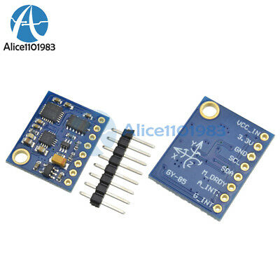2PCS 9DOF 9axis degree of freedom IMU sensor ITG3200//ITG320​5 ADXL345 HMC5883L