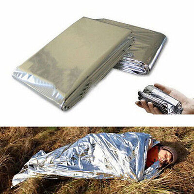 Outdoor Survival Camping Windproof Shelter Emergency Blankets/Tent/Sleeping Bag