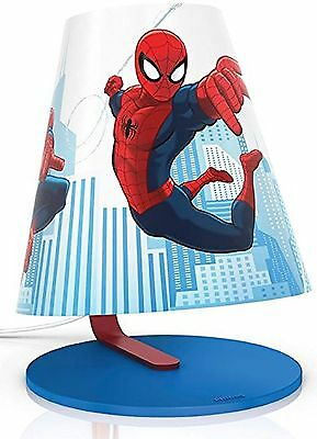 Philips Marvel Spider-Man Children's Table Lamp - 1 x 4 W Integrated LED