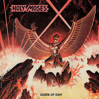 "HOLY MOSES - Queen of Siam  LP+7""  GOLD"