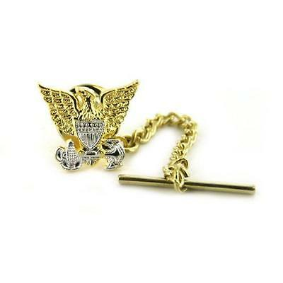 USCG Coast Guard Officer Tie Tack (USCG Issue)  (Made in USA)