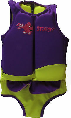 Stearns Children's Swim 'N Float 2 in 1 Swimsuit and Personal Flotation Device