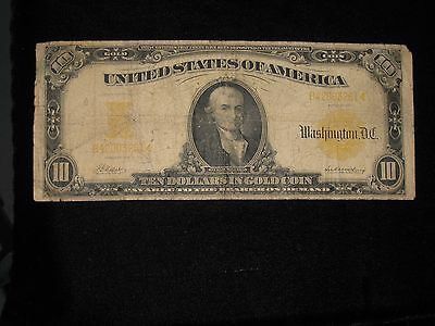 $10 US Gold Certificate - Series 1907  ** Circulated ** KL-438 (C-526)