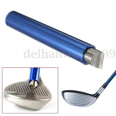 Golf Sharpener Wedge Iron Club Cleaner Cleaning Regrooving Tool U V Grooves