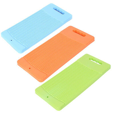 Plastic Rectangle Shaped Washing Clothes Laundry Board Washboard 43cm Long