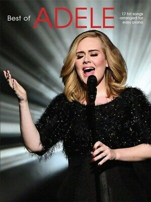 The Best Of Adele For Easy Piano Book *NEW* 2016 Edition