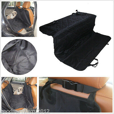Washable Black Vehicle Rear Seat Dog Comfortable Cover Blanket Conservation Pad