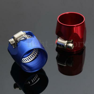 【AN4 AN6 AN8 AN10 AN12】Hose End Finishers Fuel Oil Water Pipe JUBILEE Clamp Clip