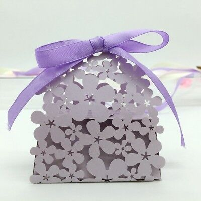 20PCS Wedding Sweet Cake Candy Box Bags Wedding Birthday Party Favours Gift