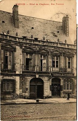 CPA TROYES - Hotel de Chaplaines, rue Turenne (71739)