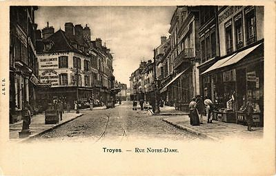 CPA TROYES - Rue Notre-Dame (71825)