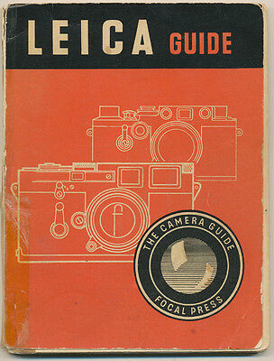 "W.D.Emanuel ""Leica Guide"" 1955 in inglese Ed.The Focal Press D719"