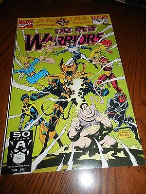The New Warriors Annual #1 (Jul 1991, Marvel ( Fine to very fine )