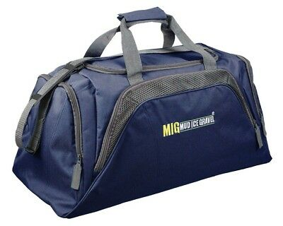 Mens Large Big Holdall Duffle Bag SPORTS GYM TRAVEL WORK LEISURE / MIG NAVY 26