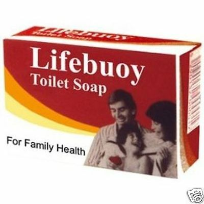 Lifebuoy Soap Genuine Traditional Household Retro Vintage Bar Soap 85g
