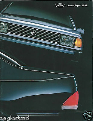 Annual Report - Ford Motor Company - 1982 - Mercury Topaz cover (AB905)
