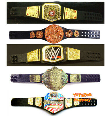 WWE World Heavyweight Championship NXT Womens United States Mini Belt Toy Figure