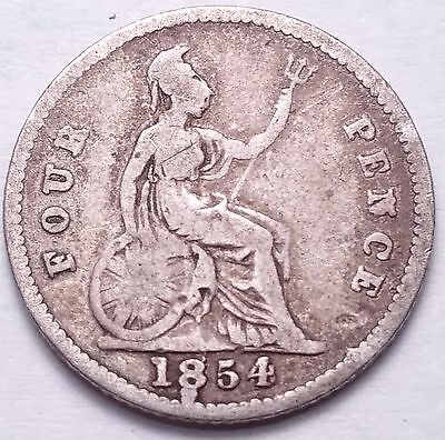 Great Britain 1854 4 Pence........foreign Coin