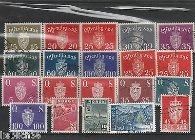 Norway Norge canceled Postage stamps Los H 1470