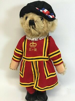 Merrythought Ironbridge Shops Queen Elizabeth's Royal Guard Teddy Bear Mohair