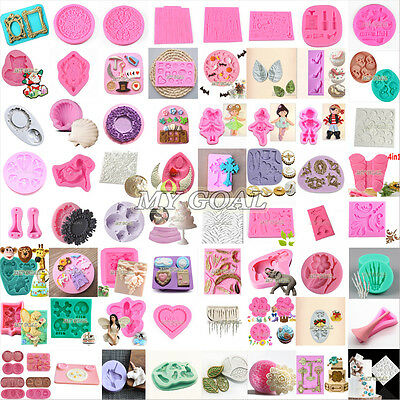 3D Silicone Cake Fondant Mold Chocolate Pastry Baking Mould Decor Sugarcraft DIY