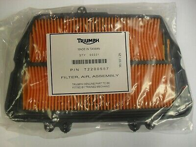 GENUINE TRIUMPH TIGER 800 / XC / XR / XCx AIR FILTER CLEANER FILTER ELEMENT
