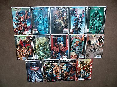 Complete Set Of The Ultimates 2 #1-13 + Annual #1 Marvel Limited Series