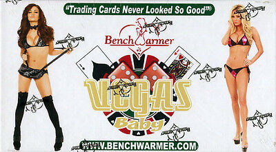 Benchwarmer Vegas Baby Card Box 2012 Sealed/OVP Trading Cards Sexy Girls