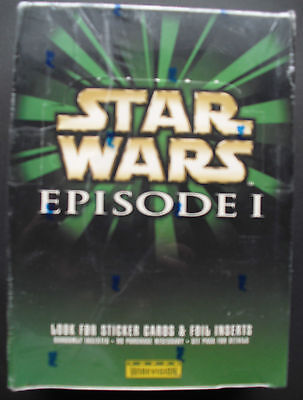 TOPPS Widevision STAR WARS EPISODE 1 Box OVP Sealed 36Packs/8Cards