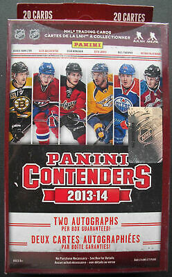 Panini Contenders NHL Hockey 2013-2012 20 Cards - 2 Autographs !!!