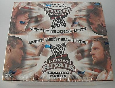 WWE Topps Ultimate Rivals Wrestling Trading Card Box orignal packaging/Sealed