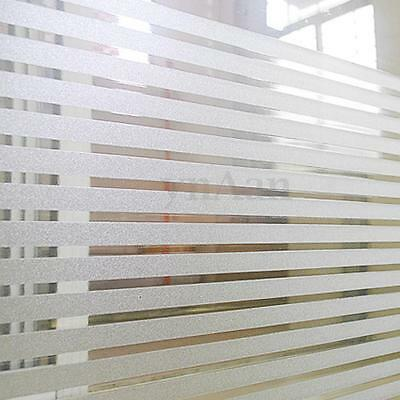 Self Adhesive Waterproof Frosted Privacy Bathroom Window  Glass Film Sticker PVC