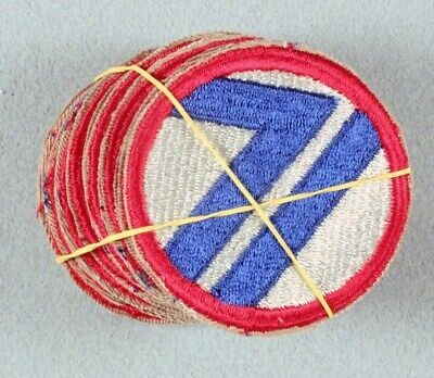 Army Patch:  71st Infantry Division, VN era cut edge - Lot of 20