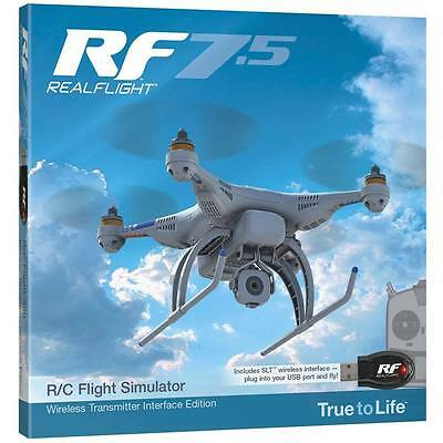 Realflight 7.5 Wireless Tactic Slt Interface Airplane Flight Simulator Gpmz4524