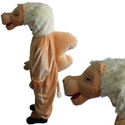 Kids Camel Costume Christmas Nativity Play Fancy Dress Outfit Ages 3-8