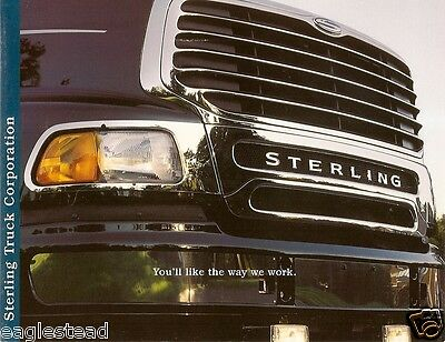 Truck Brochure - Sterling - Product Line / Company Overview - 1999 (TB115)