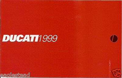 Motorcycle Brochure - Ducati - Product Line Overview - 1999 (DC258)