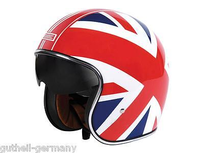 Classic Jethelm für Chopper Roller Custombike Union-Jack Great-Britain GB NEU