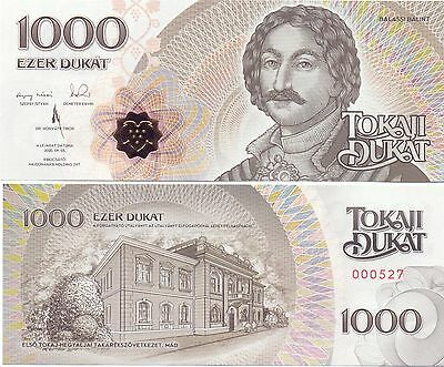 Ungarn / Hungary - 1000 Dukat 2016 UNC - local currency