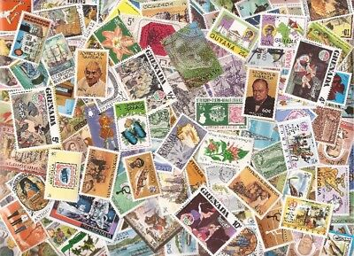 British West Indies Stamp Collection - 1,000 Different Stamps